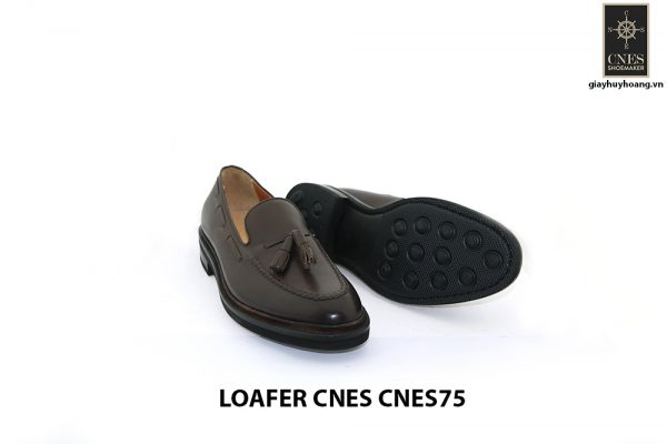[Outlet Size 42] Giày không dây nam có chuông Tassel Loafer CNS75 003