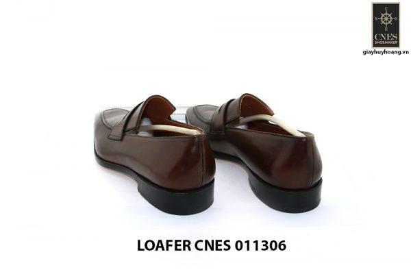 [Outlet Size 40] Giày lười nam màu nâu Loafer 11306 004