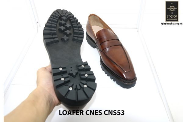 [Outlet Size 43+45+46] Giày lười nam đế cao Penny Loafer CNS53 006