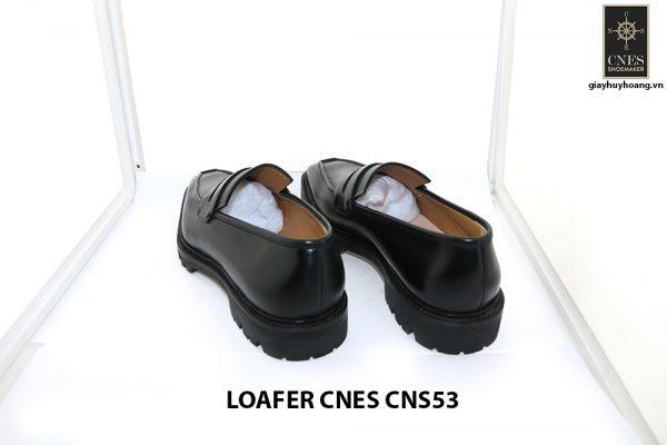[Outlet Size 43+45+46] Giày lười nam đế cao Penny Loafer CNS53 004