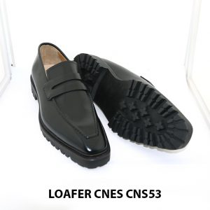 [Outlet Size 43+45+46] Giày lười nam đế cao Penny Loafer CNS53 003