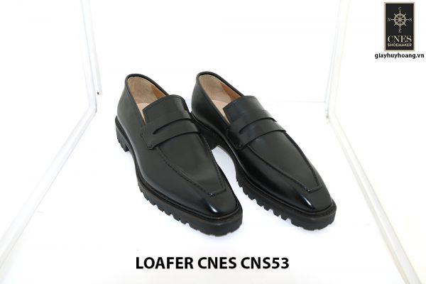 [Outlet Size 43+45+46] Giày lười nam đế cao Penny Loafer CNS53 001