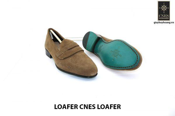 [Outlet Size 40.5] Giày lười nam da lộn thời trang Loafer Loafer 003