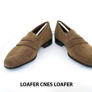 [Outlet Size 40.5] Giày lười nam da lộn thời trang Loafer Loafer 002