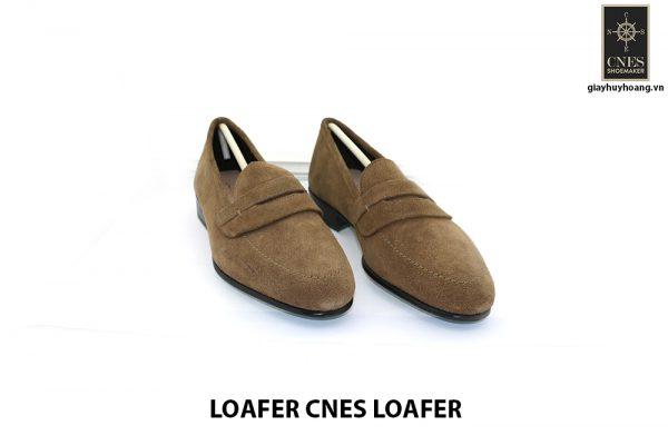 [Outlet Size 40.5] Giày lười nam da lộn thời trang Loafer Loafer 001