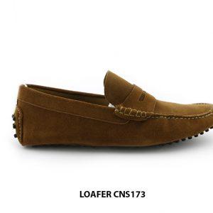 [Outlet Size 44] Giày da lộn nam loafer CNS173 001