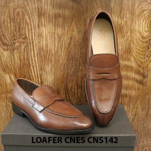 [Outlet] Giày lười nam đẹp phong cách Penny Loafer CNS142 003