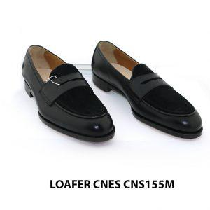 [Outlet Size 41] Giày lười nam kết hợp da lộn Loafer CNS155M 001