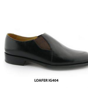 [Outlet Size 38] Giày lười da nam đơn giản loafer IG404 001