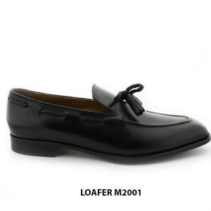 [Outlet Size 39+40+41] Giày lười da nam có chuông loafer M2001 001