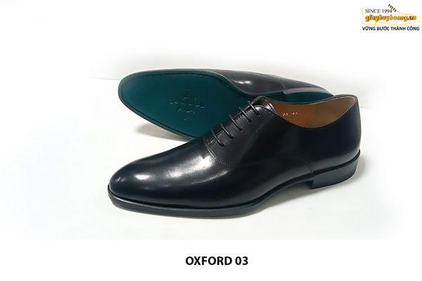 [Outlet Size 40+41+42] Giày da nam mũi trơn Oxford 03 001