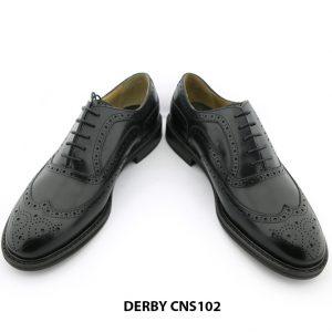 [Outlet size 45] Giày da nam đế cao su Oxford Wingtip CNS102 006