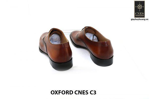 [Outlet size 43] Giày tây nam mũi trơn cao cấp Oxford C3 004