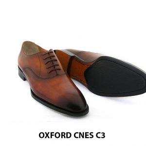 [Outlet size 43] Giày tây nam mũi trơn cao cấp Oxford C3 003