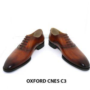 [Outlet size 43] Giày tây nam mũi trơn cao cấp Oxford C3 002