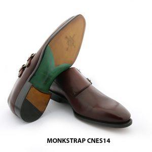 [Outlet Size 41] Giày da cao cấp cho nam Monkstrap CNES14 006