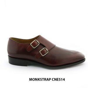 [Outlet Size 41] Giày da cao cấp cho nam Monkstrap CNES14 001