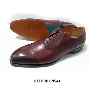 [Outlet Size 41+46] Giày tây nam cao cấp Oxford CNS41 001