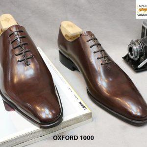 [Outlet Size 43] Giày tây nam da trơn Oxford 1000 001