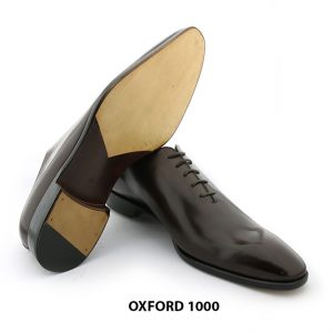 [Outlet Size 43] Giày tây nam da trơn Oxford 1000 006
