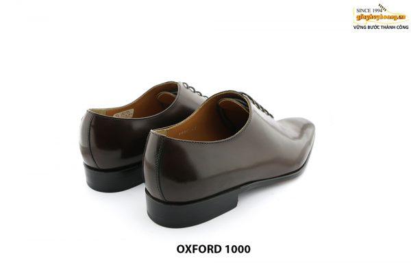 [Outlet Size 43] Giày tây nam da trơn Oxford 1000 005