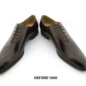 [Outlet Size 43] Giày tây nam da trơn Oxford 1000 004