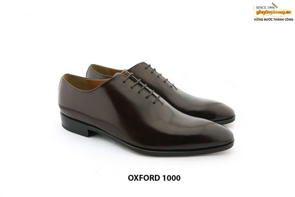 [Outlet Size 43] Giày tây nam da trơn Oxford 1000 003