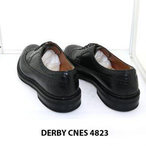 [Outlet Size 42] Giày da nam buộc dây Wingtip Derby 4823 004