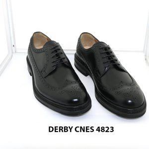 [Outlet Size 42] Giày da nam buộc dây Wingtip Derby 4823 001