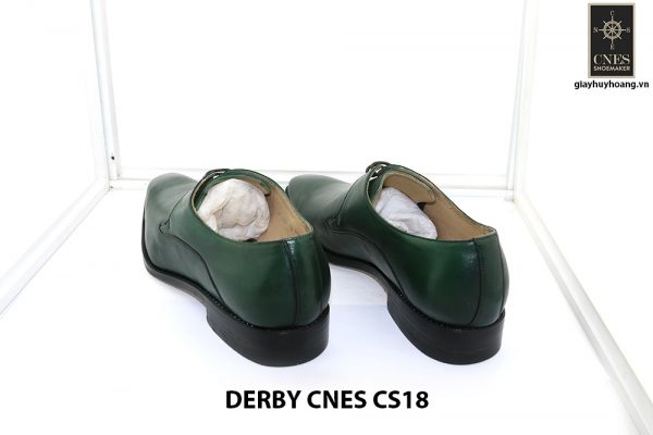 [Outlet Size 41] Giày tây nam màu xanh lá Derby CNS18 004