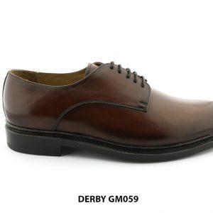 [Outlet Size 42] Giày da nam chính hãng Derby GM059 001