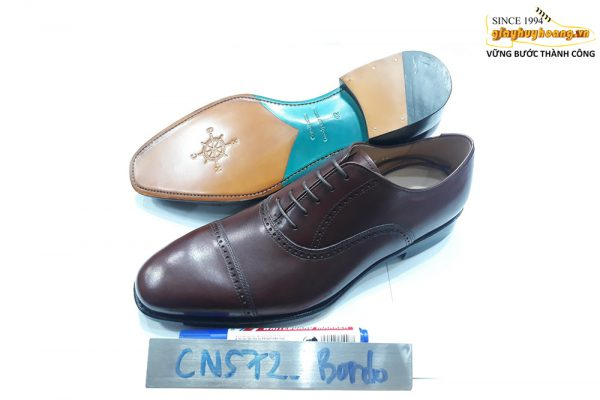 [Outlet Size 41] Giày da nam chính hãng Captoe Oxford CNS72 001