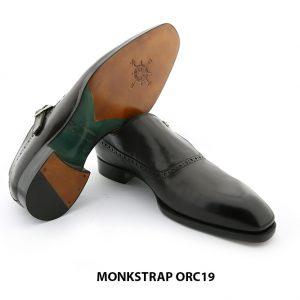 [Outlet] Giày da nam 1 khoá Single Monkstrap ORC19 0065