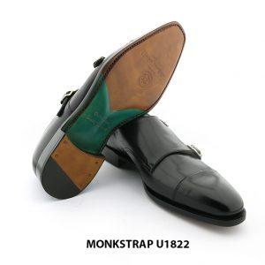[Outlet Size 42] Giày da nam không dây Monkstrap U1822 006