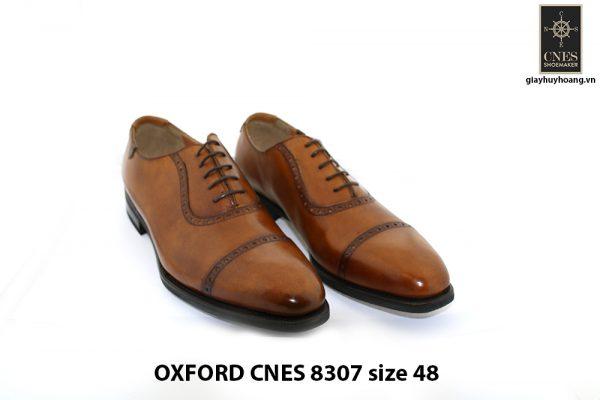 [Outlet size 48] Giày da nam size to duy nhất Oxford 8307 001