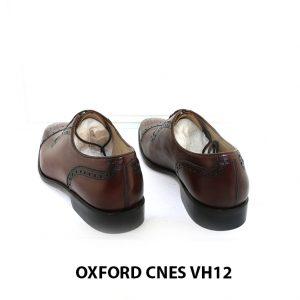 [Outlet Size 39+40] Giày tây nam buộc dây đục lỗ captoe Oxford VH12 004