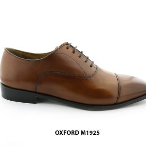 [Outlet] Giày da nam cổ điển màu bò Oxford M1925 001