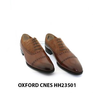 [Outlet size 40] Giày tây nam độc đáo Oxford HH23501 001
